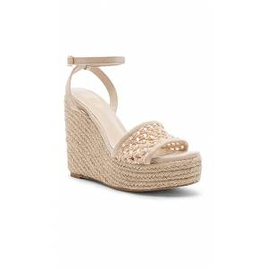 RAYE Auburn Wedge in Beige. - size 10 (also in 9.5)