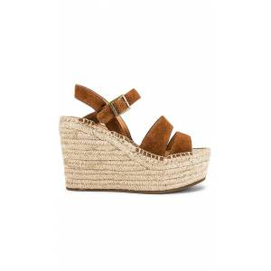 Soludos Como Platform Wedge in Brown. - size 8 (also in 10,6.5,7,7.5,8.5,9,9.5)