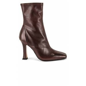 Tony Bianco Halee Bootie in Chocolate. - size 8 (also in 5, 6, 7, 9)