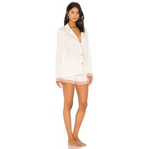 Cosabella Bella Bridal PJ Set in White. - size S (also in M,L)