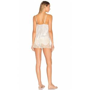 KISSKILL Mrs Short Pajama Set in White. - size XS (also in L,M,S)