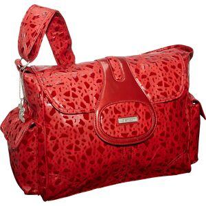 Kalencom Elite - On the Rocks - Red - Diaper Messenger Bags