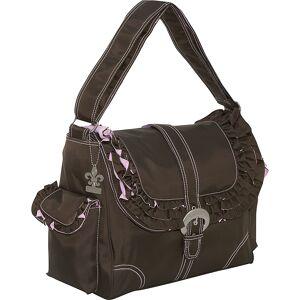 Kalencom Miss Prissy Buckle Bag - Chocolate/Pink - Hobo Diaper Bags