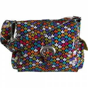 Kalencom Midi Coated Buckle Bag - Clover - Diaper Messenger Bags