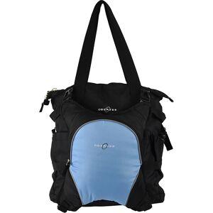 Obersee Innsbruck Diaper Bag Tote with Cooler - Black/ Cloud - Diaper Tote Bags