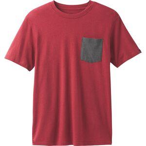 PrAna PrAna Pocket T-Shirt - S - Crimson Heather - Men's Shirts