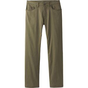 "PrAna Brion Pant 36"" Inseam - 34 - Cargo Green - Men's Pants"