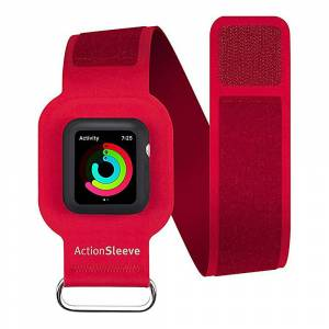 Twelve South ActionSleeve Armband for 42mm Apple Watch - Red - Wearable Tech