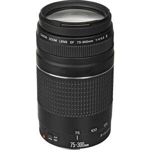 Canon EF 75-300mm f/4-5.6 III Telephoto Zoom Lens - Black - Camera Accessories