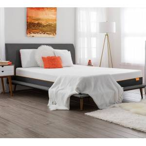 """tulo   Cooling Memory Foam Mattress in a box - Tulo soft, King   80"""" X 76"""" X 10""""   Breathable"""