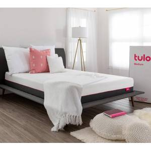 "tulo   Cooling Memory Foam Mattress in a box - Tulo medium, Twin   75"" X 39"" X 10""   Breathable"