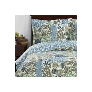 Royal Tradition Elena Green Forest Quilt Bedding Oversized Reversible Quilt Set