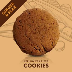 BellyCrush Ginger Flax Cookies