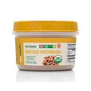 Bareorganics Maitake Mushroom Powder (Raw-Organic) (4oz) 114g