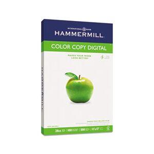 Hammermill Premium Color Copy Paper, 100 Bright, 28lb, 11 x 17, Photo White, 500 Sheets/RM
