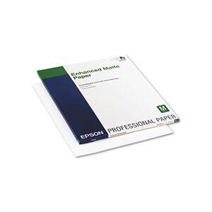 Epson Ultra Premium Matte Presentation Paper, 17 x 22, White, 50/Pack