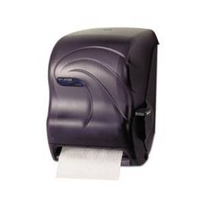 San Jamar Lever Roll Towel Dispenser, Oceans, Black Pearl, 12 15/16 x 9 1/4 x 16 1/2