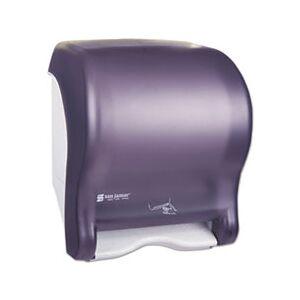 San Jamar Smart Essence Electronic Roll Towel Dispenser, 14.4hx11.8wx9.1d, Black, Plastic