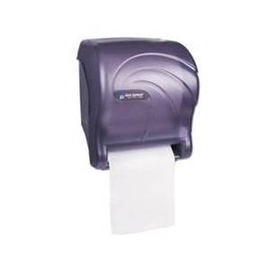 San Jamar Tear-N-Dry Essence Touchless Towel Dispenser, 11.75x9 1/8x14 7/16, Black Pearl