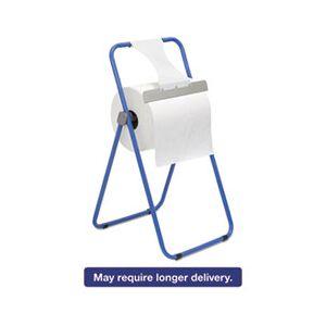 Boardwalk Jumbo Roll Dispenser, Floor Stand, Blue, 16 3/8 x 20 x 33, Steel