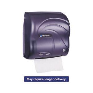 San Jamar Mechanical Hands-Free Towel Dispenser, 12 3/8 x 7 5/8 x 12 1/4, Black Pearl