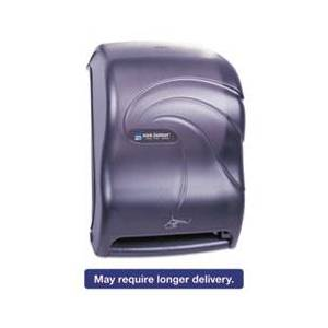 San Jamar Smart System Hand Washing Station, 11 3/4 x 9 1/4 x 16 1/2, Black Pearl