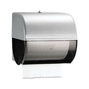Kimberly-Clark Professional Omni Roll Towel Dispenser, 10 1/2 x 10 x 10, Smoke/Gray
