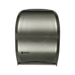 San Jamar Smart System with iQ Sensor Towel Dispenser, 16 1/2 x 9 3/4 x 12, Silver