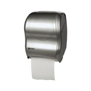 San Jamar Tear-N-Dry Touchless Roll Towel Dispenser, 16 3/4 x 10 x 12 1/2, Silver