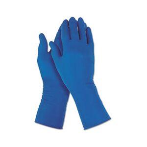 Jackson Safety G29 Solvent Resistant Gloves, 295 mm Length, Medium/Size 8, Blue, 500/Carton