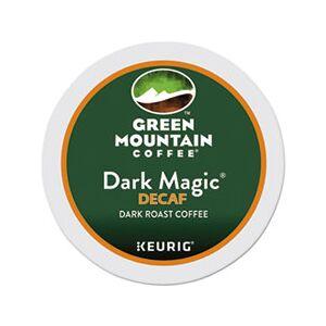 Green Mountain Coffee Dark Magic Decaf Extra Bold Coffee K-Cups, 96/Carton