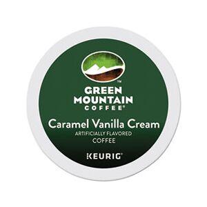 Green Mountain Coffee Caramel Vanilla Cream Coffee K-Cups, 96/Carton