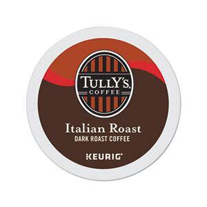 Tully's Coffee Italian Roast Coffee K-Cups, 24/Box