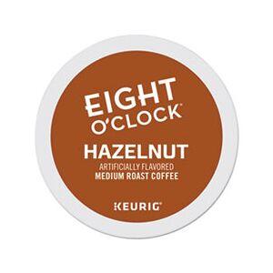 Eight O'Clock Hazelnut Coffee K-Cups, 96/Carton