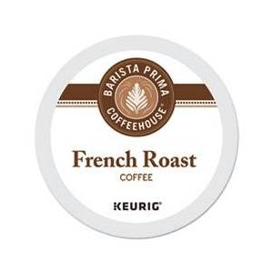 Barista Prima Coffeehouse French Roast K-Cups Coffee Pack, 24/Box