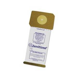 Janitized Vacuum Filter Bags Designed to Fit Electrolux Type U & ProTeam ProForce, 100/CT