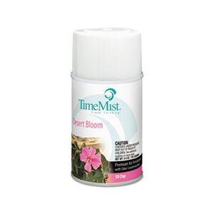 TimeMist Metered Aerosol Fragrance Dispenser Refill, Desert Bloom, 6.6oz Aerosol, 12/CT