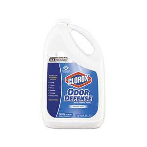 Clorox Commercial Solutions Odor Defense Air/Fabric Spray, Clean Air,1gal Bottle,4/CT