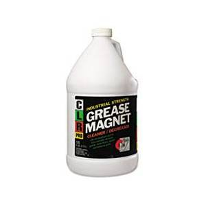 CLR PRO Grease Magnet, 1gal Bottle, 4/Carton