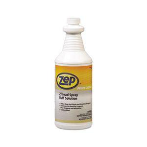 Zep Professional Z-Tread Buff-Solution Spray, Neutral, 1qt Bottle