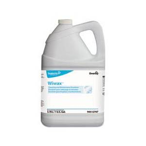 Diversey Wiwax Cleaning and Maintenance Solution, Liquid, 1 gal Bottle, 4/Carton