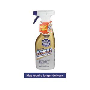 Bar Keeper's Friend MORE Spray + Foam Cleaner, 25.4 oz Spray Bottle, Citrus, 6/Carton