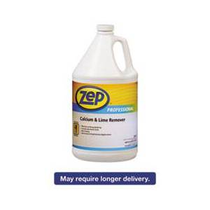 Zep Professional Calcium & Lime Remover, Neutral, 1gal Bottle, 4/Carton