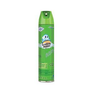 Scrubbing Bubbles Multi Surface Bathroom Cleaner, Clean Fresh Scent, 25 oz Aerosol Can, 12/Carton