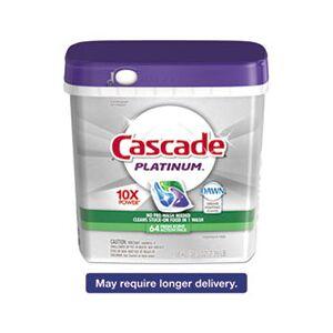 Cascade ActionPacs, Fresh Scent, 34.5 oz Bag, 62/Bag