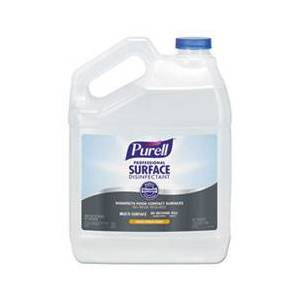 Purell Professional Surface Disinfectant, Fresh Citrus, 1 gal Bottle, 4/Carton