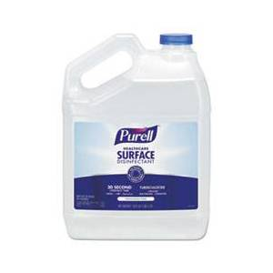 Purell Healthcare Surface Disinfectant, Fragrance Free, 128 oz Bottle, 4/Carton