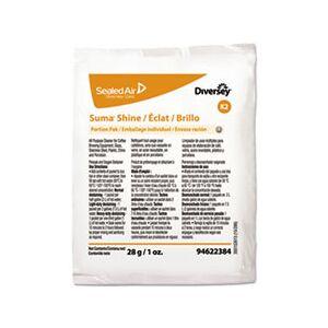 Diversey Suma Shine Portion Pak, Powder, 100 per carton