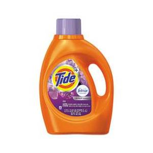 Tide Plus Febreze Liquid Laundry Detergent, Spring & Renewal, 92oz Bottle