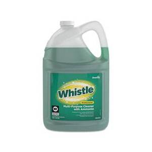 Diversey Whistle Professional Multi-Purpose Cleaner With Ammonia, Fresh, 0.49 gal, 2/CT